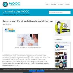 MOOC Réussir son CV et sa lettre de candidature