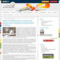Appel à candidature pour un concours de plaidoyer pour l'adoption des logiciels libres en Afrique