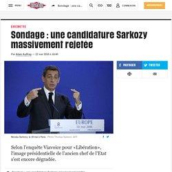 Sondage: une candidature Sarkozy massivement rejetée