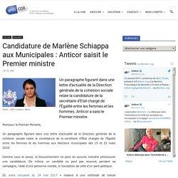 Candidature de Marlène Schiappa aux Municipales : Anticor saisit le Premier ministre