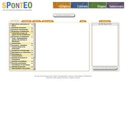 SPONTEO : 1er site d'envoi de candidatures spontanées