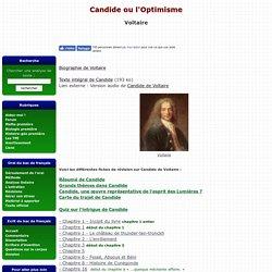 Candide ou l'Optimiste de Voltaire