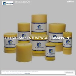 Pillar Candles That Won't Disappoint – Bluecorn Beeswax