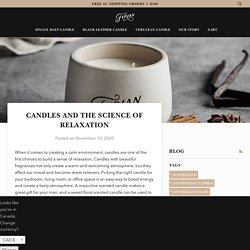 Candles and the Science of Relaxation – Fyrian