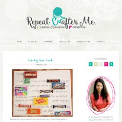 Candy Bar Card - Repeat Crafter Me