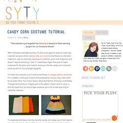 Candy Corn Costume Tutorial