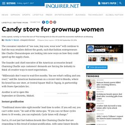 Candy store for grownup women
