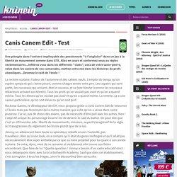 Canis Canem Edit - Test
