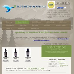Bluebird Botanicals CBD Hemp Oil