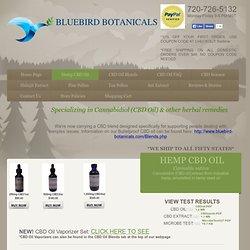 Bluebird Botanicals CBD Hemp Oil