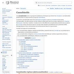 Cannabinoïde