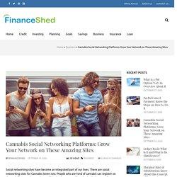 Top 8 Cannabis Business Social Network 2020