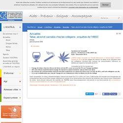 Tabac, alcool et cannabis chez les collégiens : enquêtes de l'HBSC