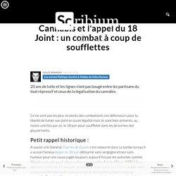 Cannabiset l'appel du 18 Joint: un combat à coup de soufflettes