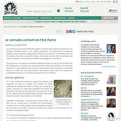 Le cannabis contaminé-1ère Partie