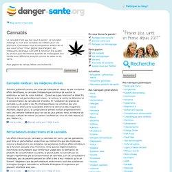 Cannabis : dangers, risques et effets pour la Santé