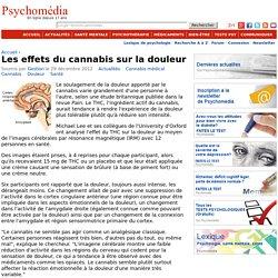 Les effets du cannabis sur la douleur