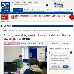 Alcool, cannabis, sport... La santé des étudiants est en petite forme