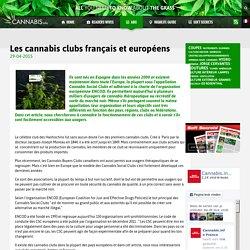 Les cannabis clubs français et européens
