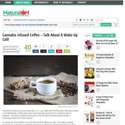 Cannabis Infused Coffee – Talk About A Wake-Up Call!