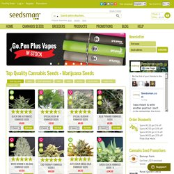 Buy Cannabis Seeds + Marijuana Seeds
