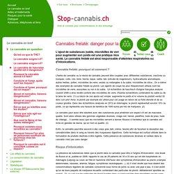 Le cannabis de mauvaise qualité est-il dangereux? - Stop-Cannabis.ch