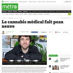 Le cannabis médical fait peau neuve