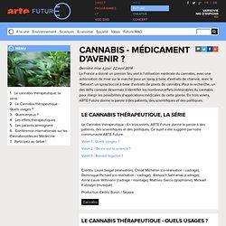 Cannabis - médicament d'avenir
