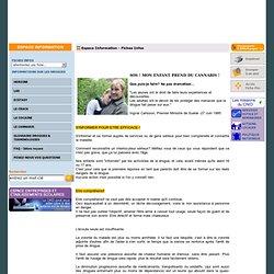 SOS ! MON ENFANT PREND DU CANNABIS ! - Comité national d'information sur la drogue - CNID