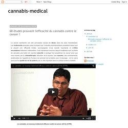 cannabis-medical: 68 études prouvant l'efficacité du cannabis contre le cancer !