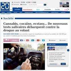 Cannabis, cocaïne, ecstasy... De nouveaux tests salivaires débarquent contre la drogue au volant