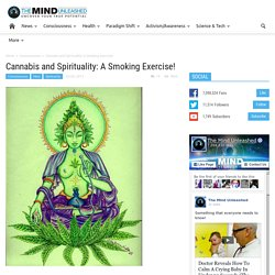 Cannabis and Spirituality: A Smoking Exercise!