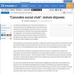 Cannabis social club belgique
