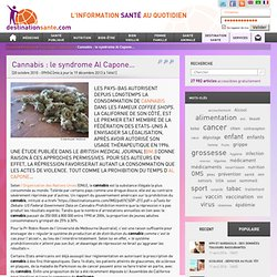 Cannabis : le syndrome Al Capone…