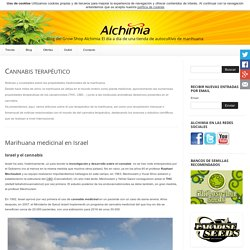 Cannabis terapéutico - Blog del Grow Shop Alchimia