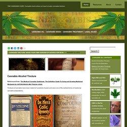 Cannabis Tinctures