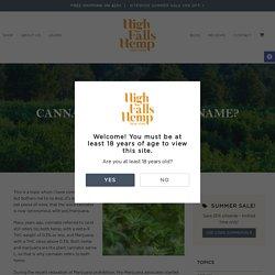 Cannabis... What's In A Name? - High Falls Hemp