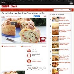 Ricetta Casatiello - Antonino Cannavacciuolo