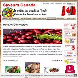 Recette canneberges (Cranberries) séchées du Québec-Saveurs Canada