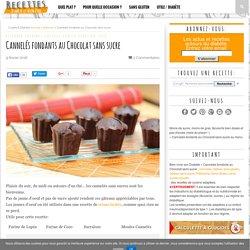 Cannelés fondants au Chocolat sans sucre