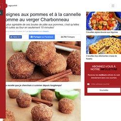 Beignes aux pommes et à la cannelle comme au verger Charbonneau - Desserts - Ma Fourchette