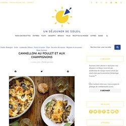 Cannelloni au poulet et aux champignons