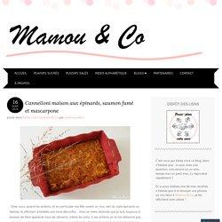 Cannelloni maison aux épinards, saumon fumé et mascarpone
