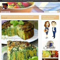 Gâteau de Cannelloni aux Epinards et Ricotta {et le nom du gagnant}