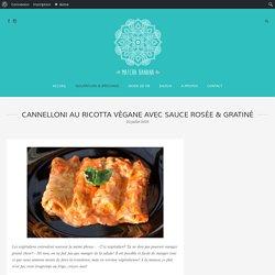 Cannelloni au ricotta végane avec sauce rosée & gratiné – Matcha Banana