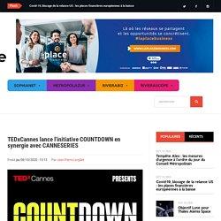 TEDxCannes lance l'initiative COUNTDOWN en synergie avec CANNESERIES