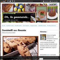 Cannistrelli aux Amandes