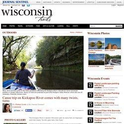 Canoe trip on Kickapoo River comes with many twists, turns