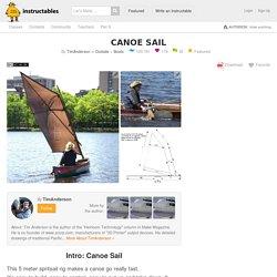 Canoe Sail: 5 Steps