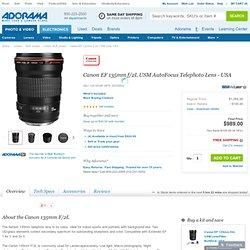Canon EF 135mm f/2L USM Lens, USA 2520A004